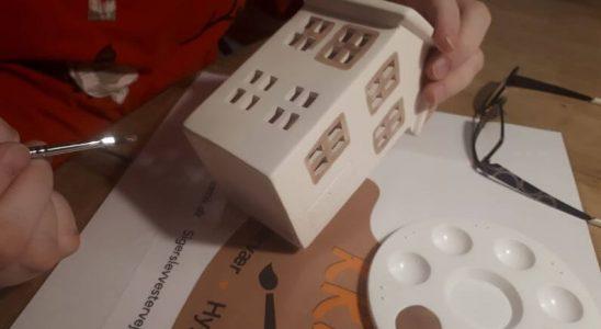 Mal selv Keramik Hus lanterne