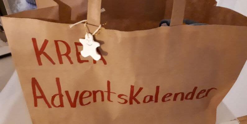 KREA Mal Selv Keramik Adventskalender pakker